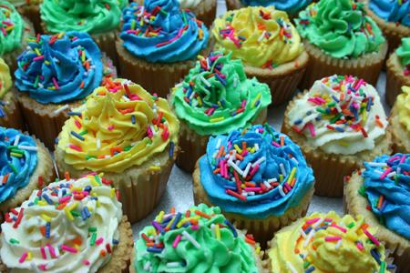 Mum's cupcakes