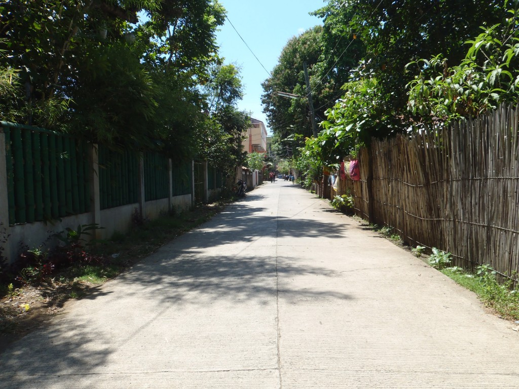 This is Dacanay Road. At the very end is Rizal Avenue (walking distance).