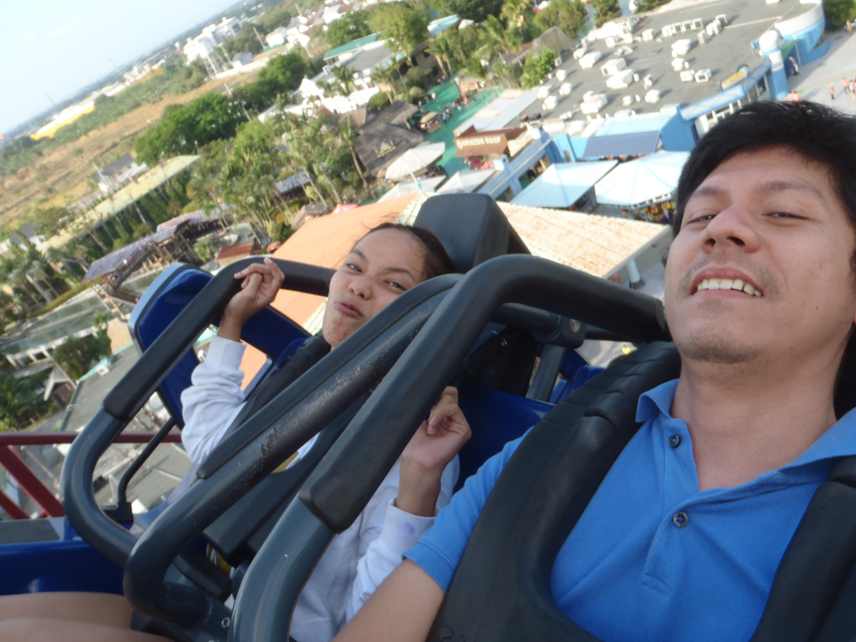enchanted kingdom 2014 back after 7 years thoughts in binary rode my sister in law who also did baby sitting duties first
