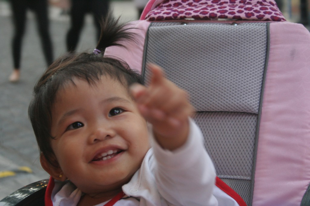 This is baby Sab, one of my baby's 2nd cousins.