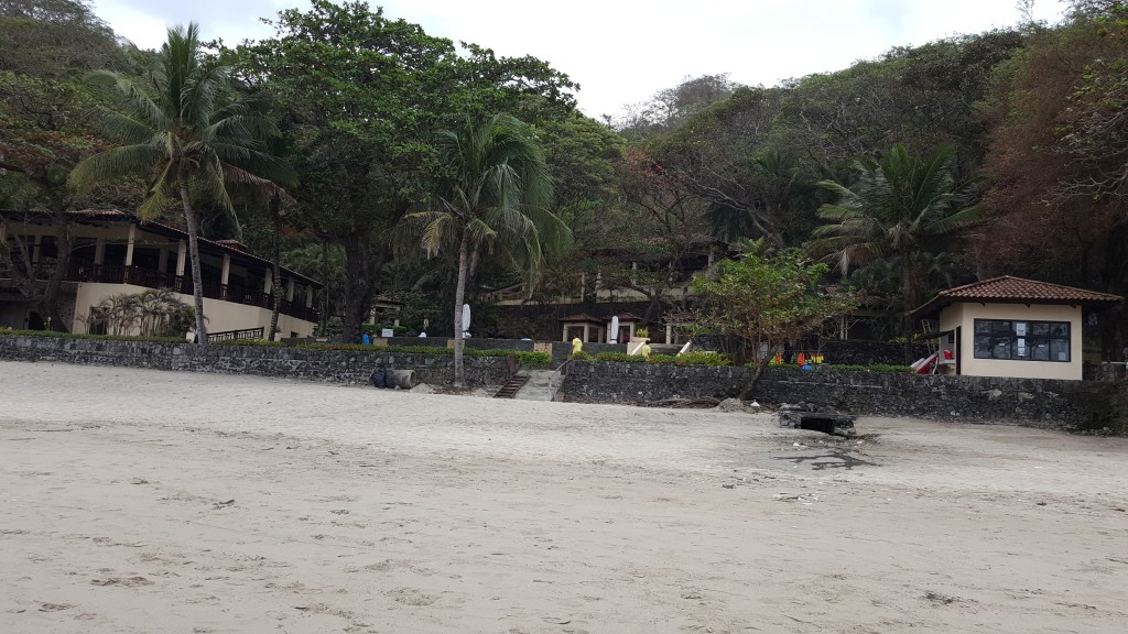 That's the dulo of Terrazas. The rest house is to the right.