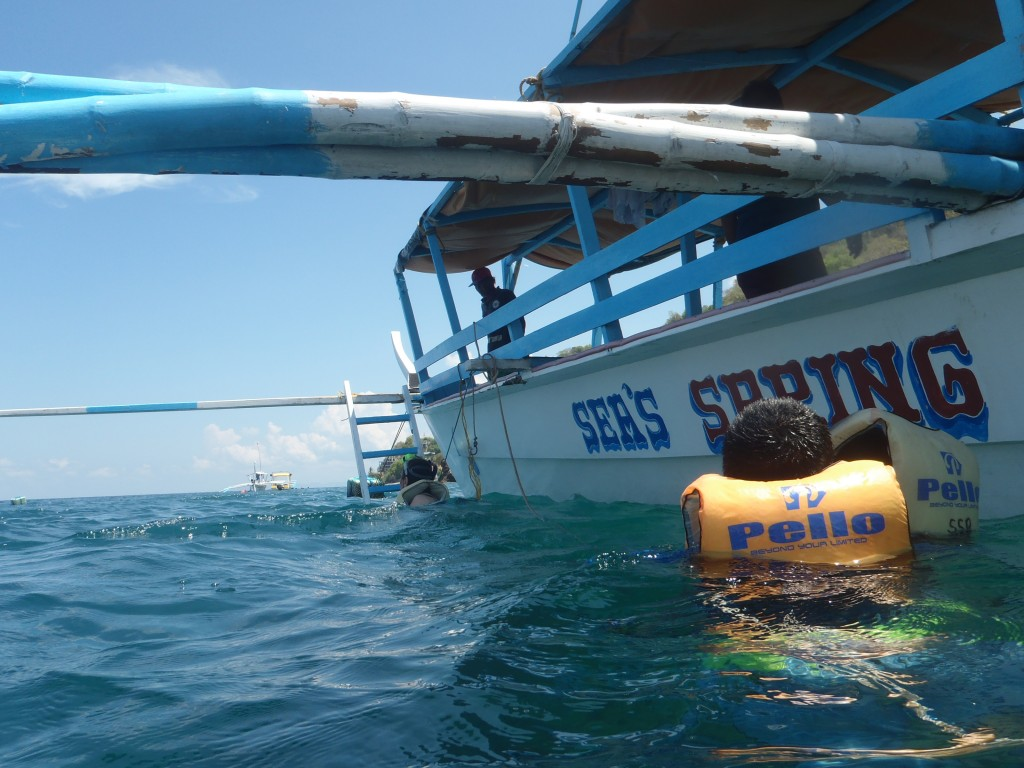 Another gitna-ng-dagat snorkeling activity.