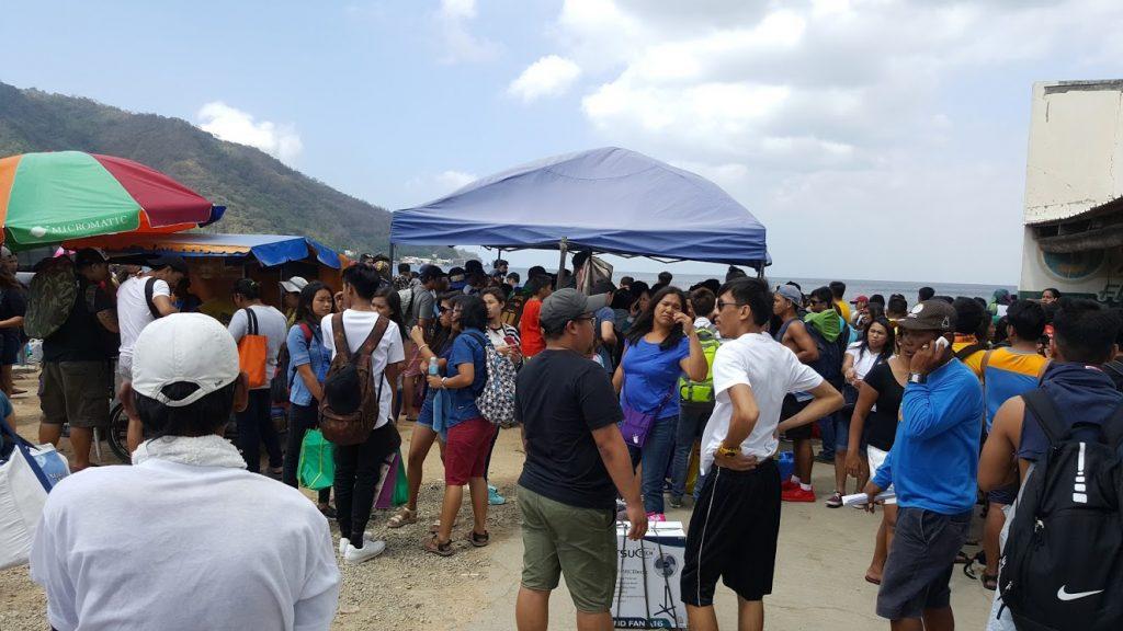 Anilao Port chaos